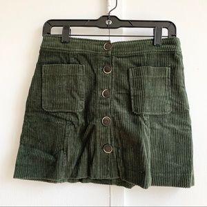 Cordorouy skirt